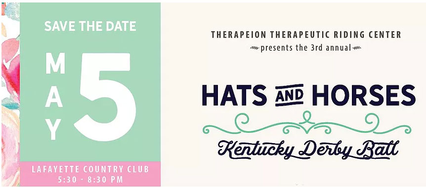 3rd Annual Hats and Horses Derby Hall @ Lafayette Country Club
