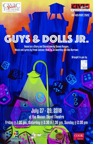 Guys & Dolls Jr. @ Civic Theatre of Greater Lafayette