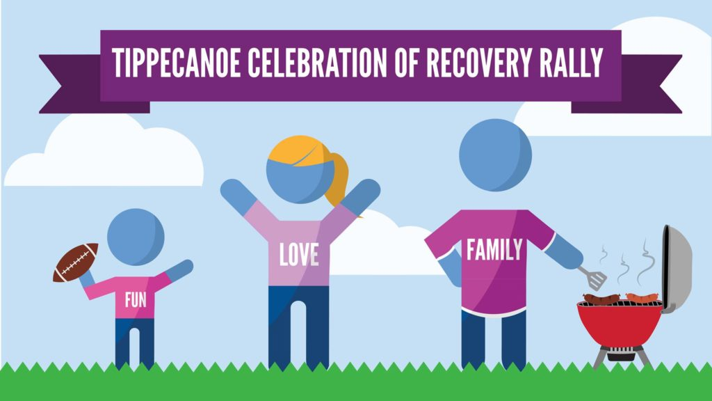 Celebration of Recovery Rally @ Columbian Park